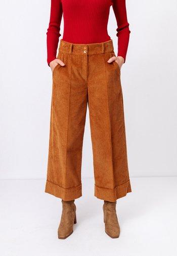 CAPRI CORDUROY  - Kalhoty - nougat