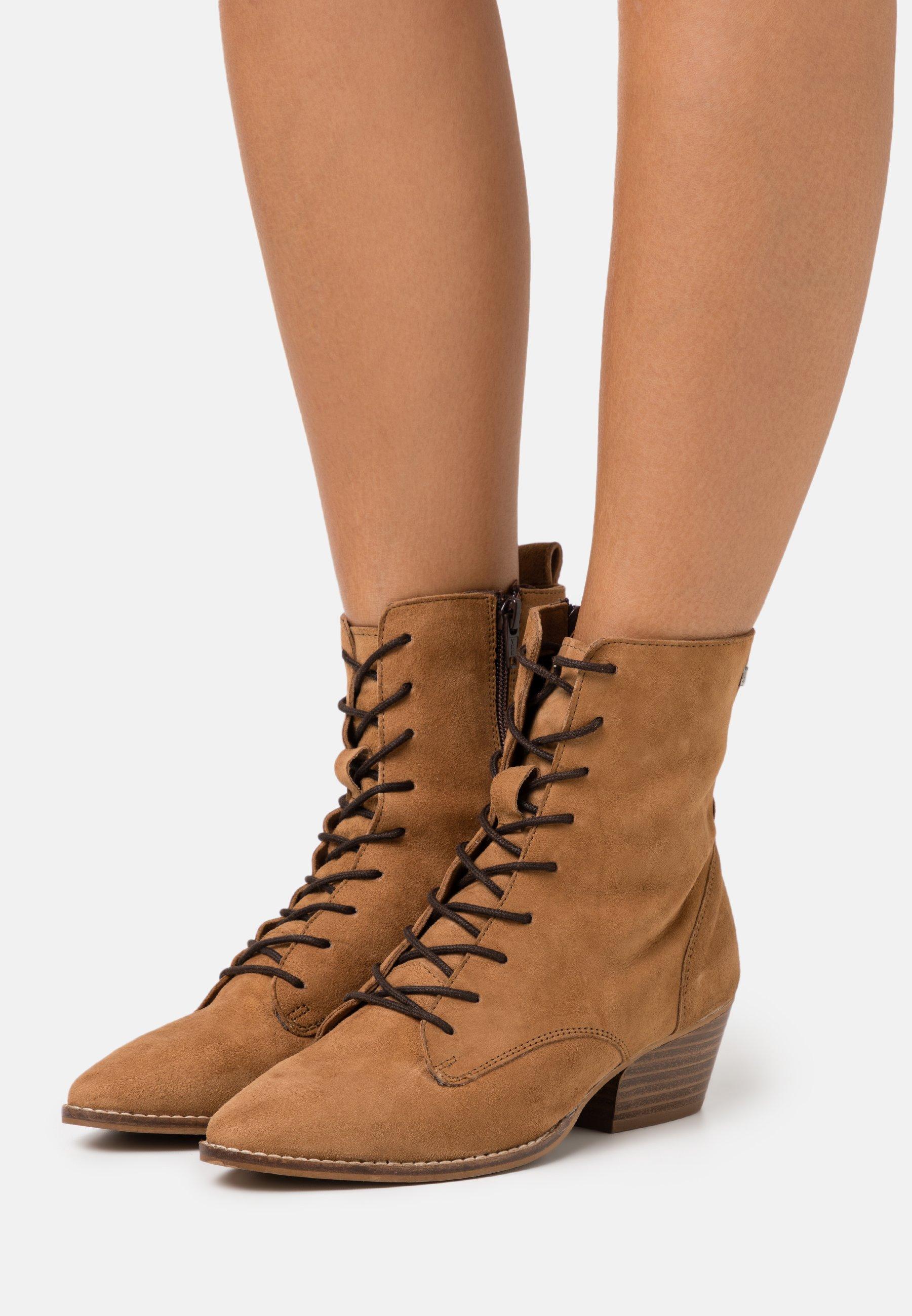 ankle boots cognac @ Zalando.co