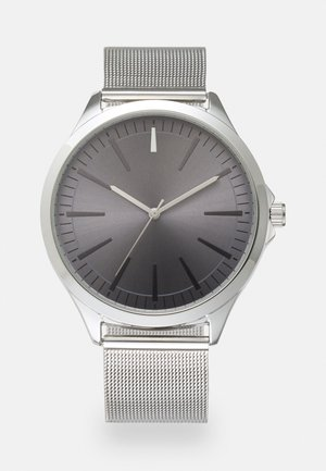 STRAP WATCH - Watch - silver-coloured