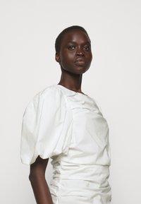 DESIGNERS REMIX - SANDRA PUFF DRESS - Fodralklänning - cream - 4