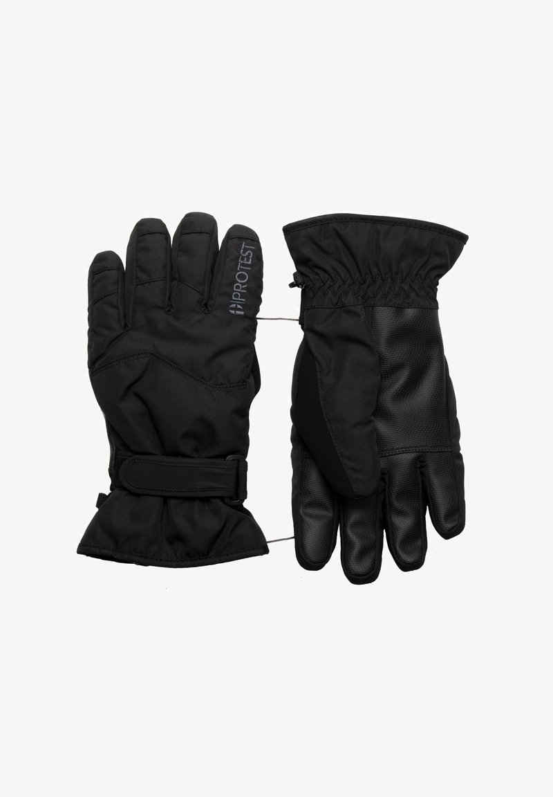 Protest - Gloves - true black