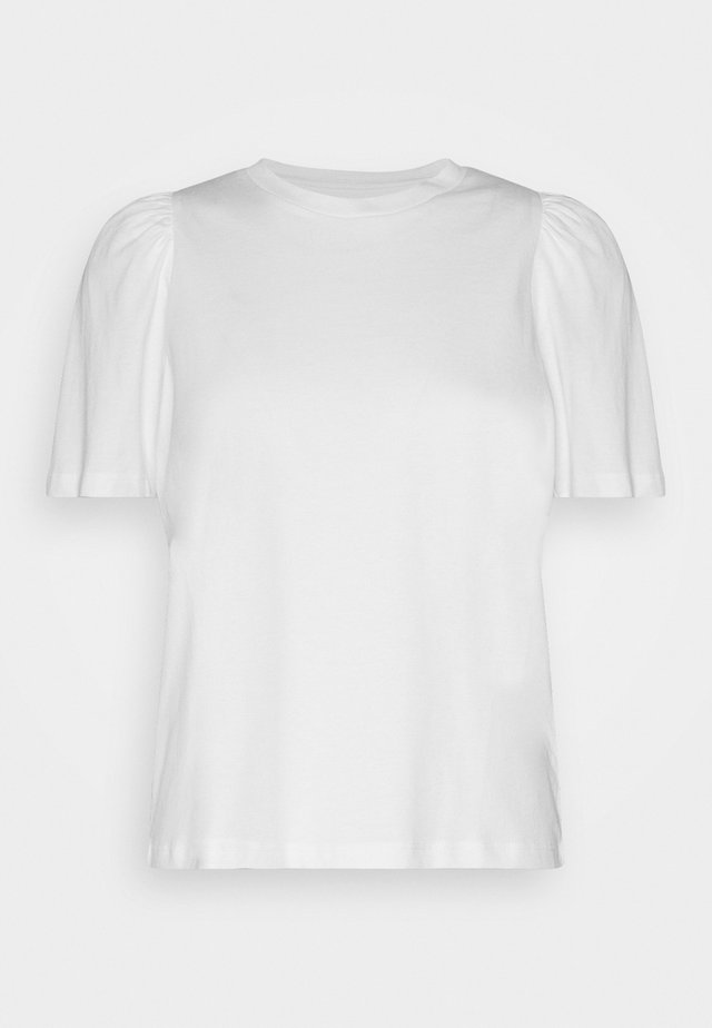 NMSHOUT - T-Shirt print - bright white