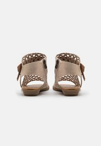 Blowfish Malibu - VEGAN BALLA - Ankle cuff sandals - gold draped - 3