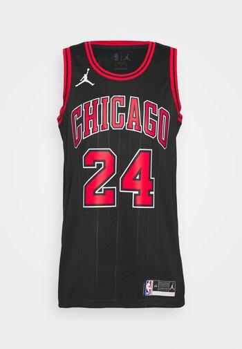 NBA CHICAGO BULLS LAURI MARKKANEN SWINGMAN - Club wear - black/markkanen lauri