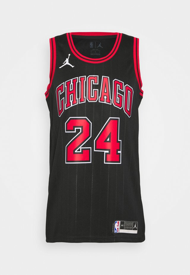 NBA CHICAGO BULLS LAURI MARKKANEN SWINGMAN - Article de supporter - black/markkanen lauri