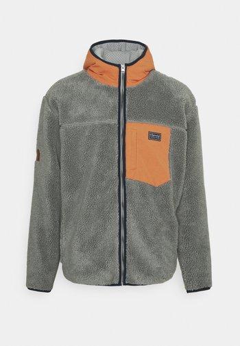 ZIP THRU HOOD - Summer jacket - slate iron