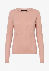 Vero Moda - VMCARE STRUCTURE O NECK - Jumper - misty rose - 2
