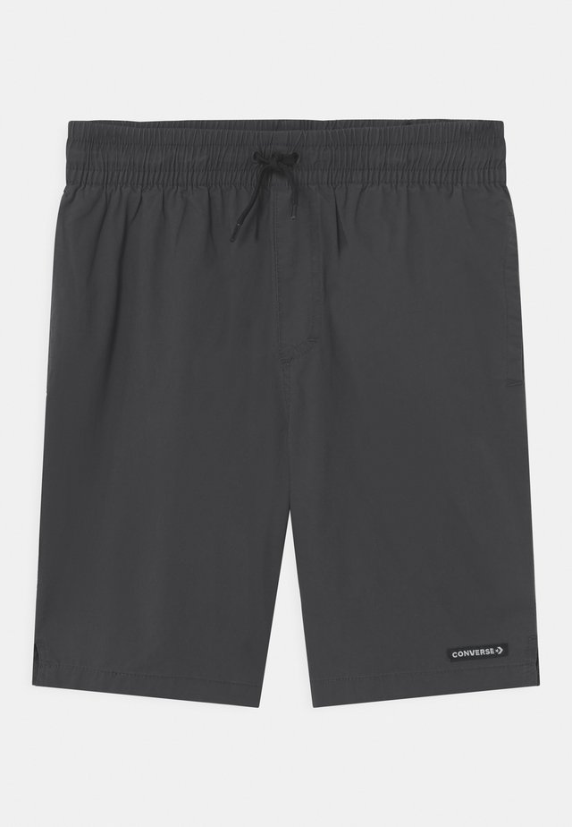 STRETCH PULL ON UNISEX - Shorts - anthracite