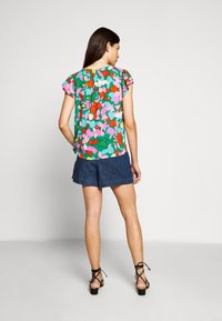 J.CREW - COCHE HANA MILDRED FLORAL - Blouse - purple/green - 2