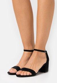 Anna Field - LEATHER - Sandals - black - 0