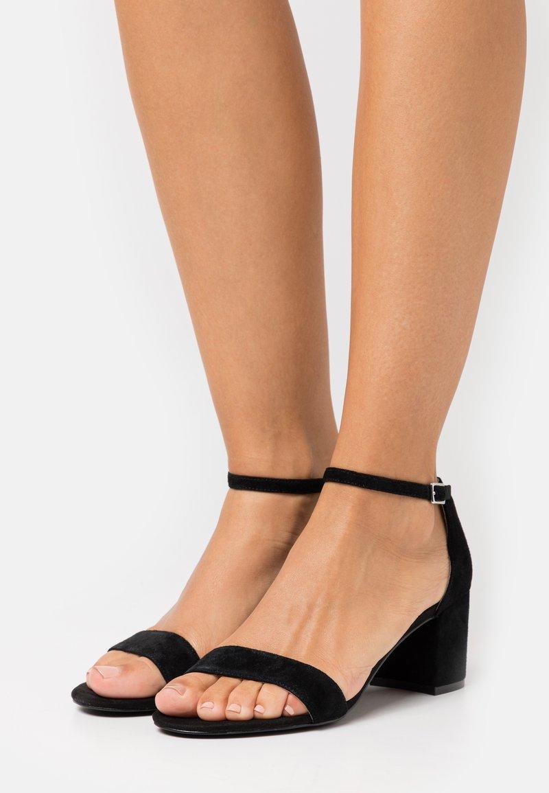 Anna Field - LEATHER - Sandals - black