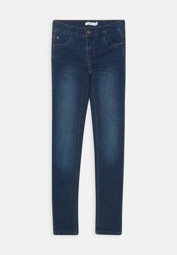 NKFPOLLY PANT NOOS - Slim fit jeans - medium blue denim