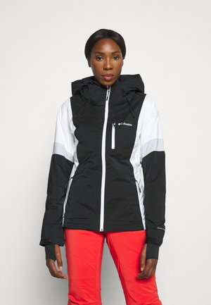 SNOW DIVA™ II INSULATED JACKET - Ski jacket - black/white/cirrus grey