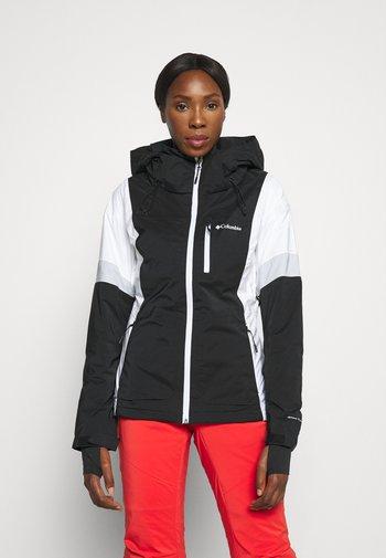 SNOW DIVA™ II INSULATED JACKET - Skijakke - black/white/cirrus grey