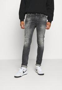 Tigha - MORTEN DESTROYED - Jeans Skinny Fit - darkgrey - 0