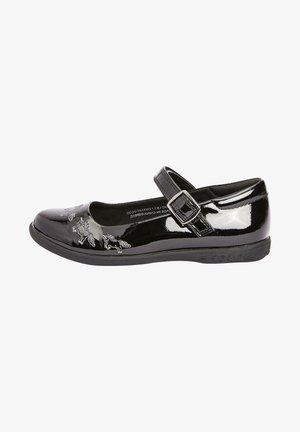 UNICORN MARY JANE  - Ankle strap ballet pumps - black