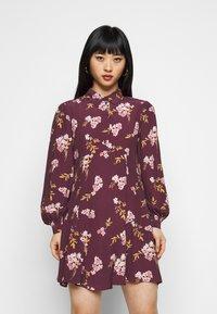 Vero Moda Petite - VMRIBINA DRESS - Shirt dress - fig - 0