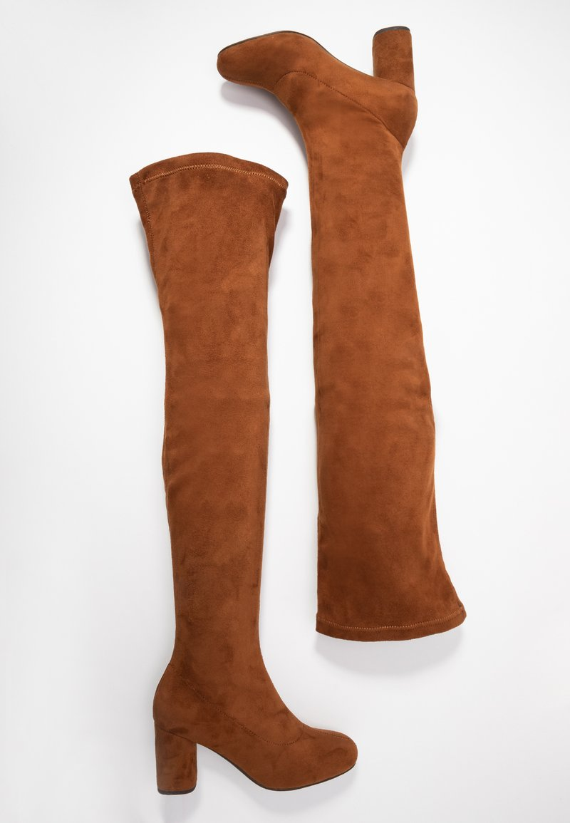 Anna Field - Over-the-knee boots - cognac