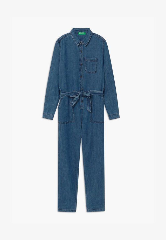 KEITH KISS GIRL - Overall / Jumpsuit /Buksedragter - blue denim