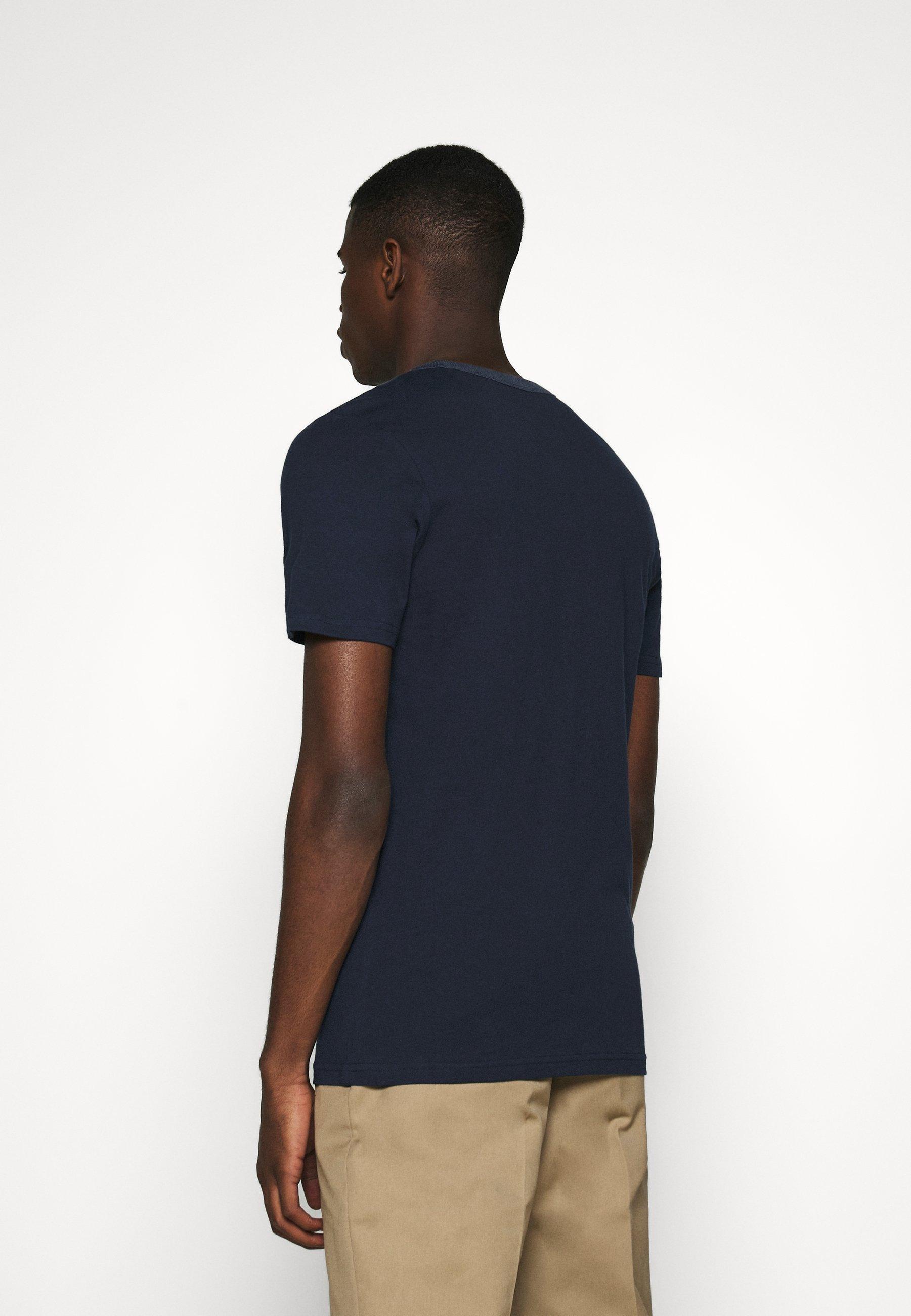 Jack & Jones JCOJORDY TEE   - Print T-shirt - navy blazer DMEgl