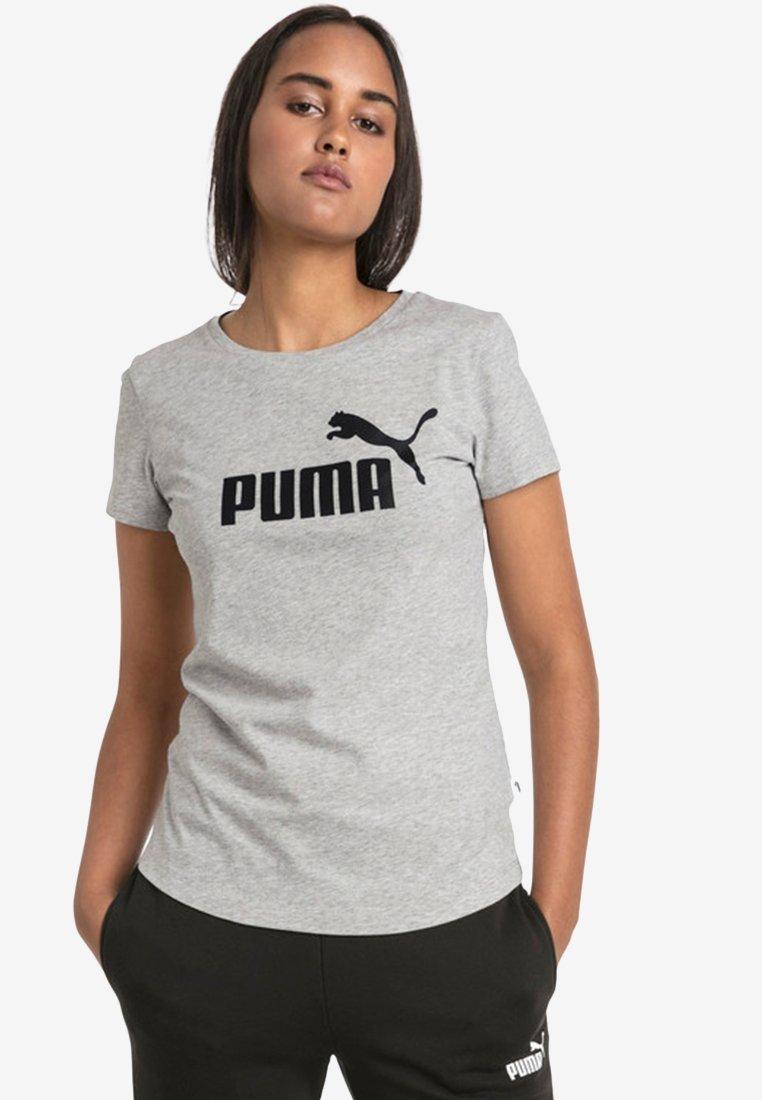 Women Print T-shirt - light gray