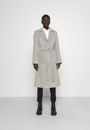 MESUA - Klasyczny płaszcz - medium grey