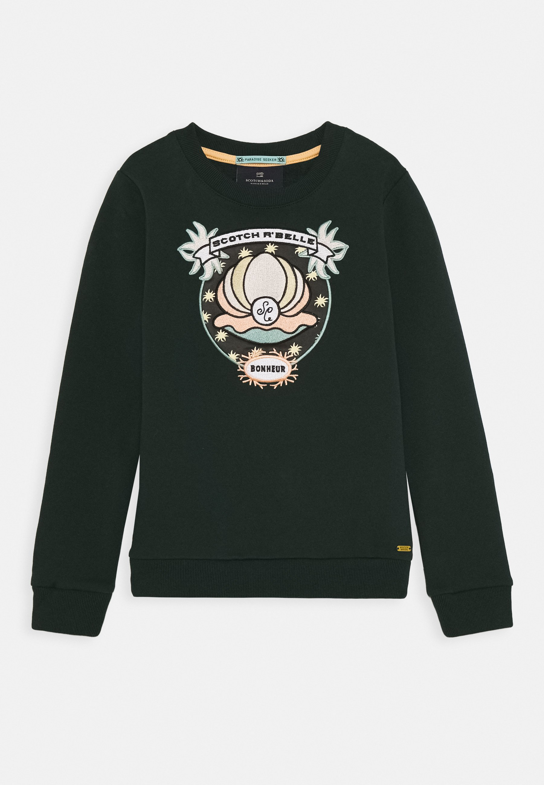 Enfant CREWNECK WITH SHELL EMBROIDERY - Sweatshirt