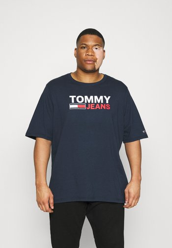 CORP LOGO TEE - Print T-shirt - twilight navy