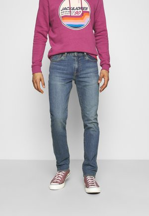 511™ SLIM - Jeans slim fit - med indigo worn in
