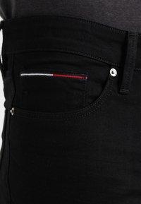 Tommy Jeans - SCANTON - Slim fit jeans - black comfort - 3