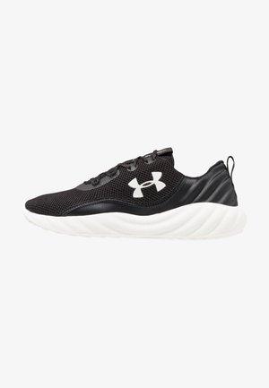 CHARGED WILL - Zapatillas de running neutras - black/white