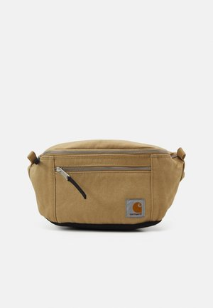 HIP BAG UNISEX - Bum bag - dusty brown/black