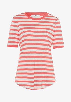 STYLE COLETTE - T-shirt imprimé - coral