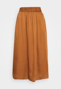 NAF NAF - SATEENE  - A-line skirt - caramel - 1