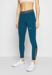 Nike Performance - TIGHT 7/8  - Leggings - valerian blue/black/white - 0