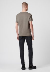 AllSaints - BRACE - Basic T-shirt - mottled grey - 2