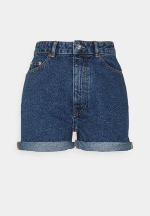 ONLBAY LIFE MOM - Denim shorts - medium blue denim