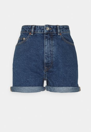 ONLBAY LIFE MOM - Shorts di jeans - medium blue denim