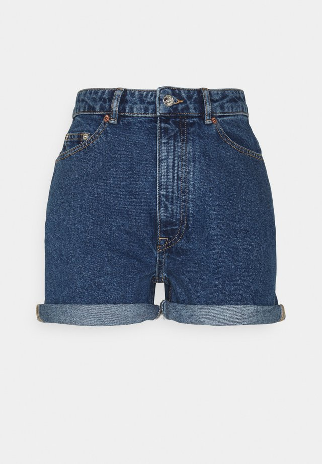 ONLBAY LIFE MOM - Shorts di jeans - medium blue denim