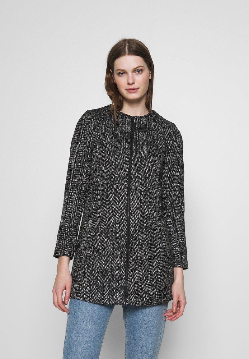 ONLY - ONLMAYA COATIGAN - Halflange jas - black