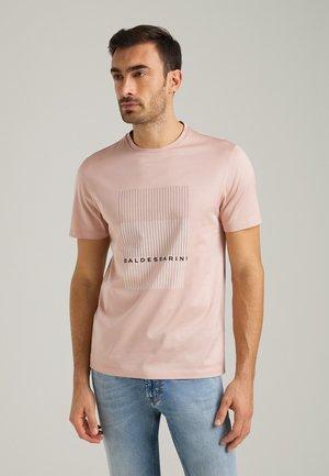 Print T-shirt - misty rose