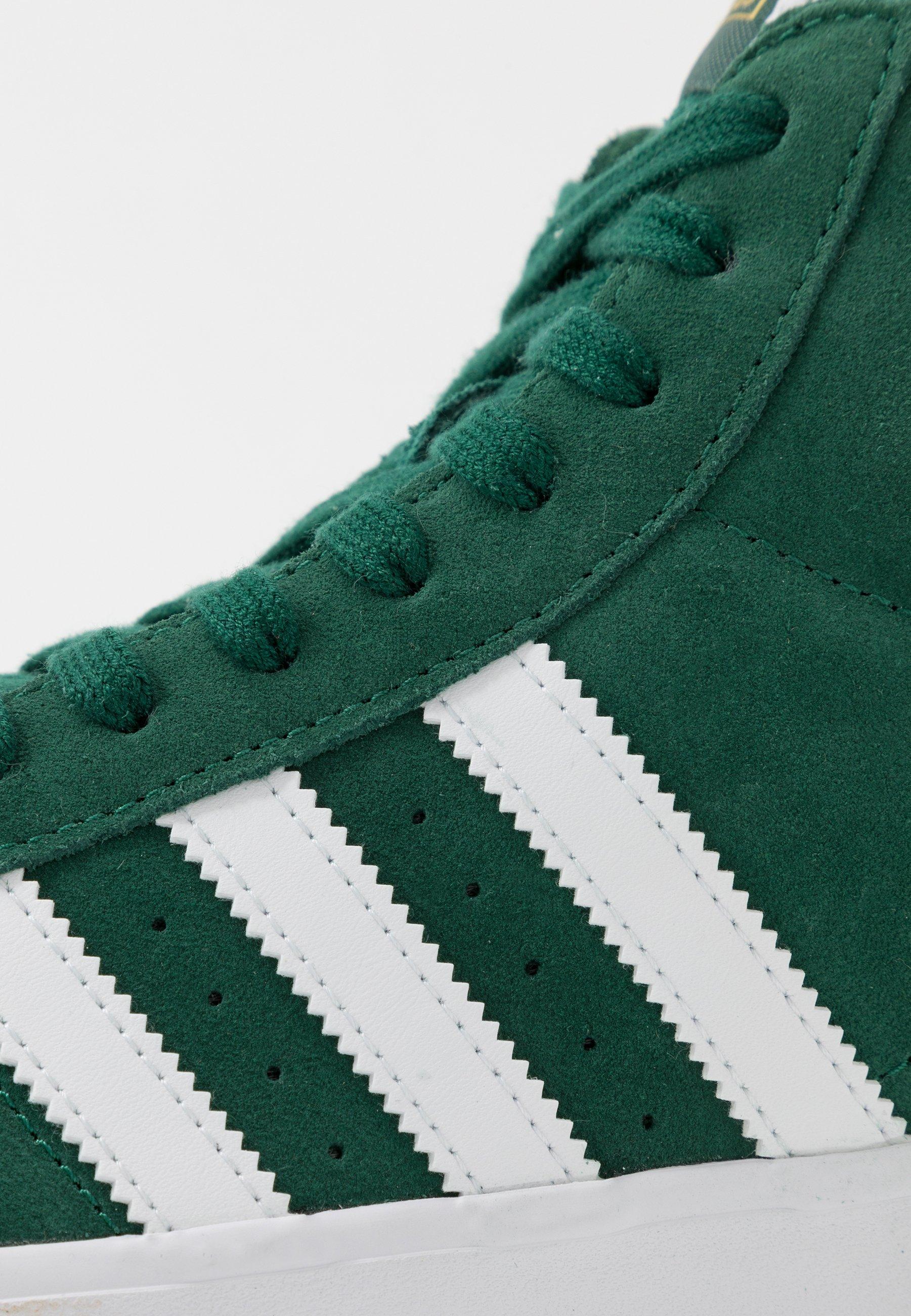 Adidas Originals Basket Profi - Sneakers Collegiate Green/footwear White/gold Metallic