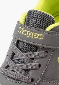 Kappa - DALTON ICE - Sports shoes - grey/lime - 2