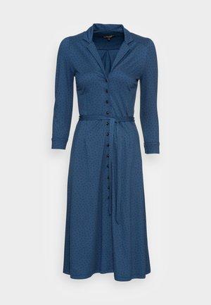 LOLA BUTTON DRESS LITTLE DOTS - Robe en jersey - blue dawn