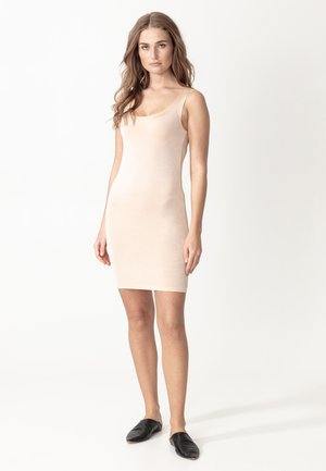 TUNIC SANNE - Shift dress - nude