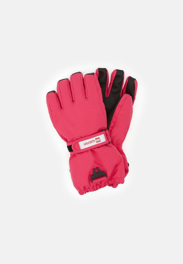 ATLIN GLOVES UNISEX - Handsker - dark pink