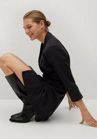 Mango - BLAKE1 - Košilové šaty - black - 5