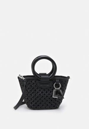 BASKET SMALL TOP HANDLE - Handbag - black