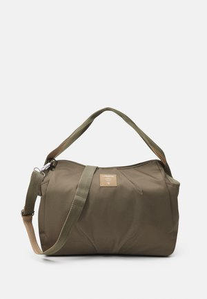 TWIN BAG TRIANGLE - Wickeltasche - olive