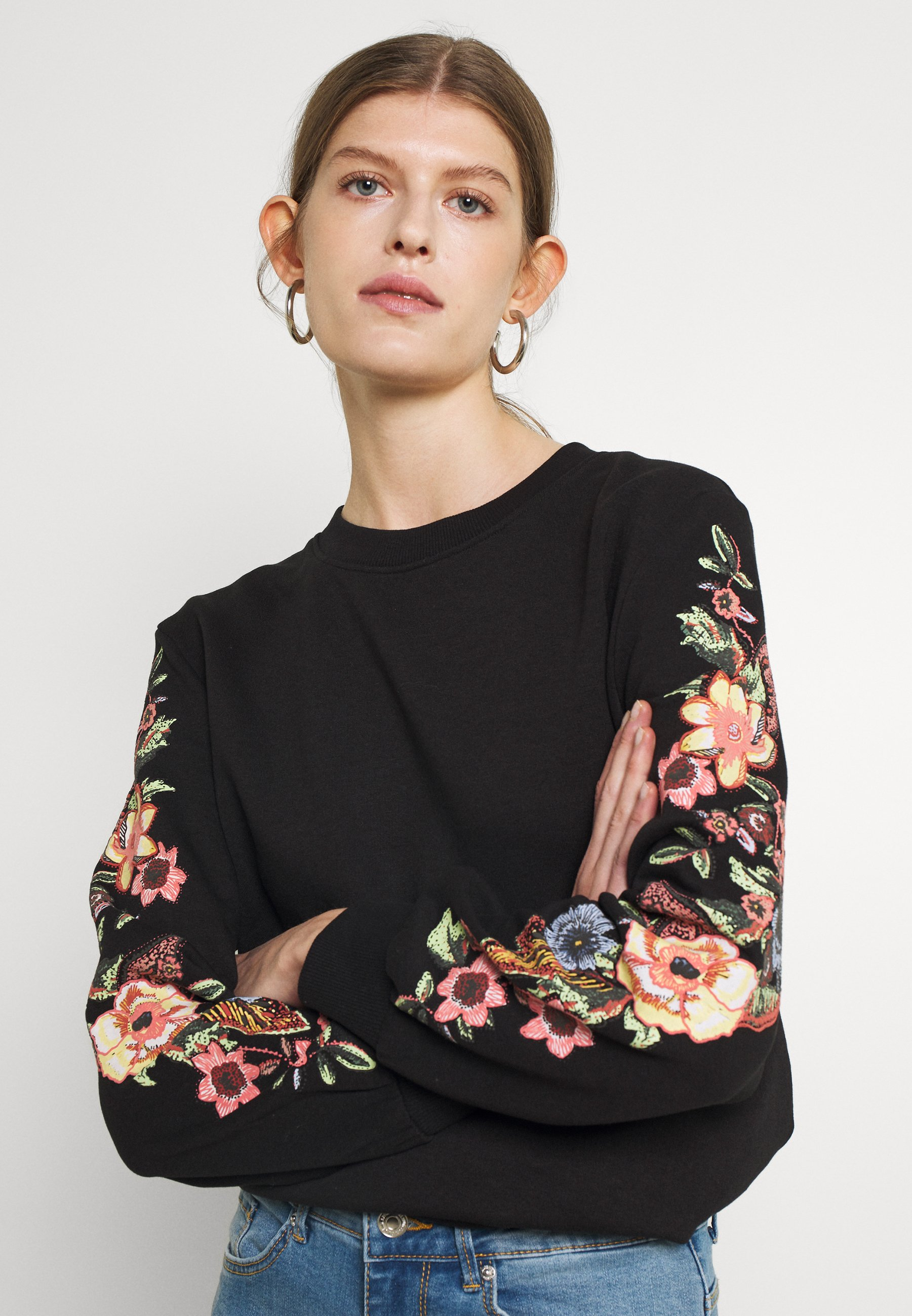 Women ONLCONNY  LIFE O NECK - Sweatshirt